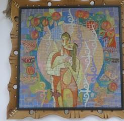 Шоу-рум с изделиями лучших мастеров-ремесленников (традиционные казахские ремесла)